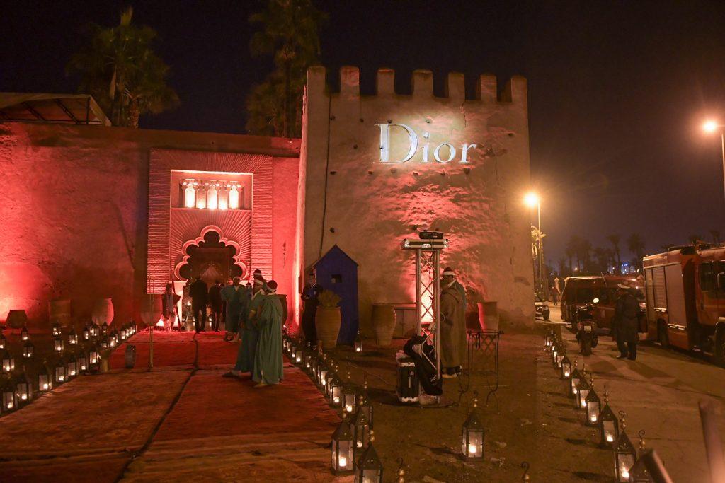 """Dîner Dior au Palais Soleiman, avec le jury du Festival International du Film de Marrakech en présence du réalisateur Paul Verhoeven et Isabelle Huppert pour le film """"Elle"""" et en hommage au réalisateur Shinya Tsukamoto"""
