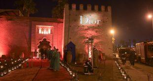 "Dîner Dior au Palais Soleiman, avec le jury du Festival International du Film de Marrakech en présence du réalisateur Paul Verhoeven et Isabelle Huppert pour le film ""Elle"" et en hommage au réalisateur Shinya Tsukamoto"