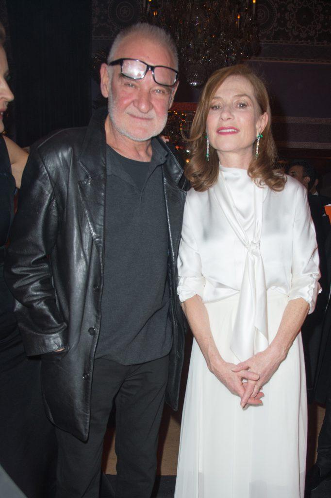 Béla Tarr et Isabelle Huppert