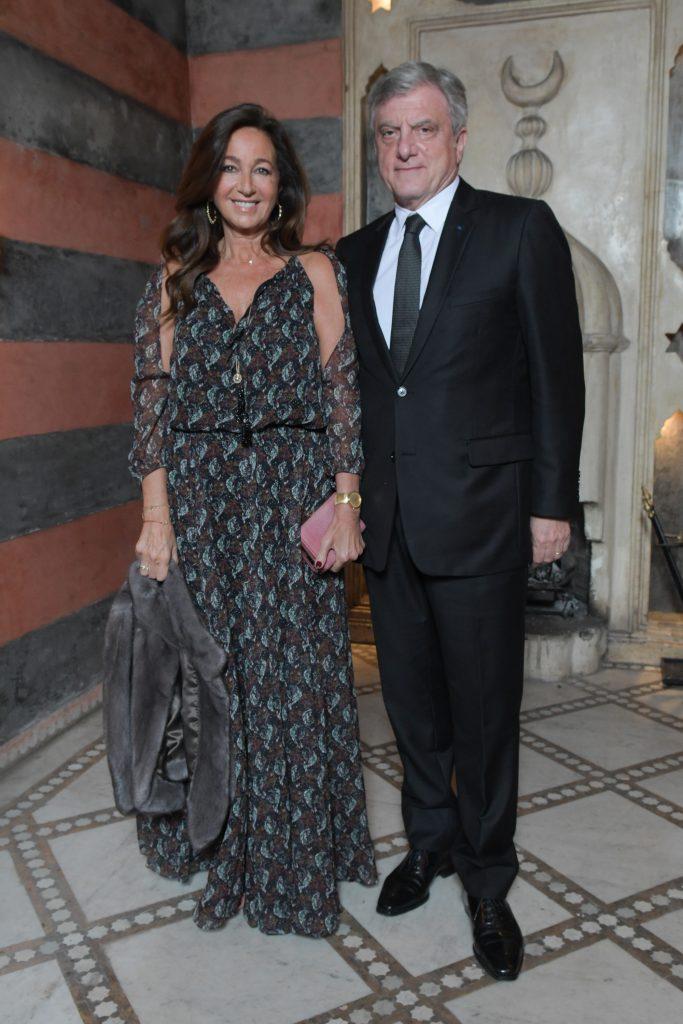 Katia Toledano et Sidney Toledano président de Dior