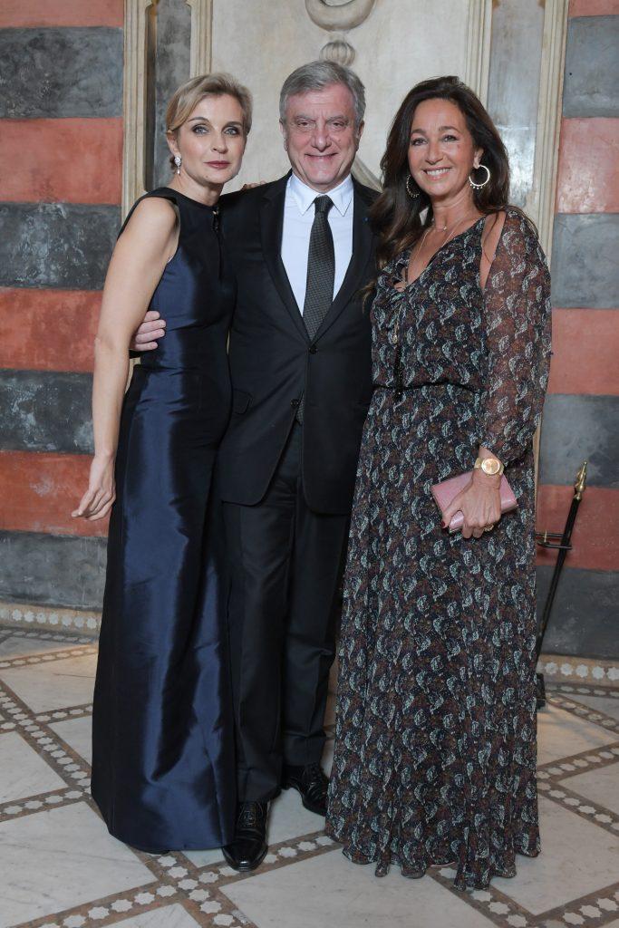 Melita Toscan du Plantier, Sidney Toledano, Katia Toledano