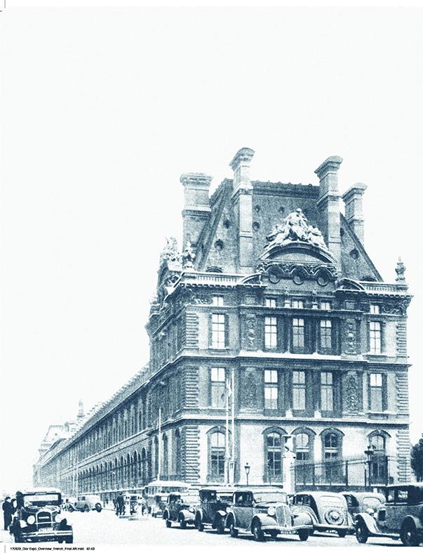 Le musée des Arts décoratifs dans les années 1930.