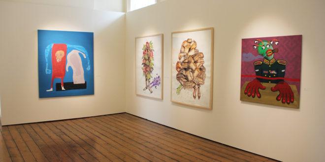 La foire d'art africain 1-54 à Marrakech