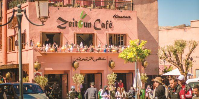 Décliné en deux adresses, le concept de restaurant & glacier Zeitoun Café Marrakech n