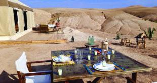 Inara Camp déset d'Agafay