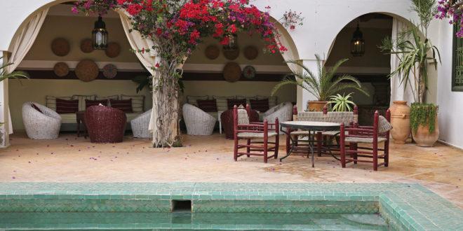 Villa Maroc côté jardin