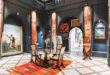 Une galerie célébrant l' art moderne et contemporain à Marrakech.